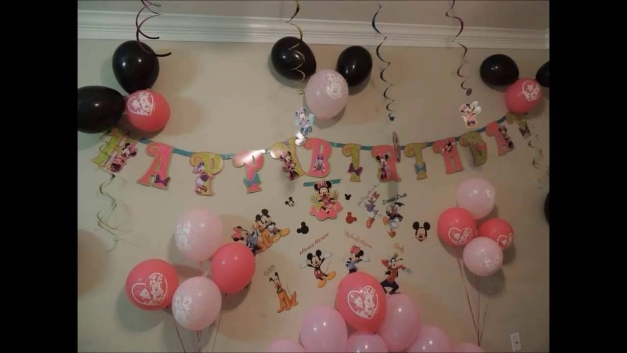 10 Ideal Ideas For Minnie Mouse Birthday Party minnie mouse birthday party easy ideas youtube 2020