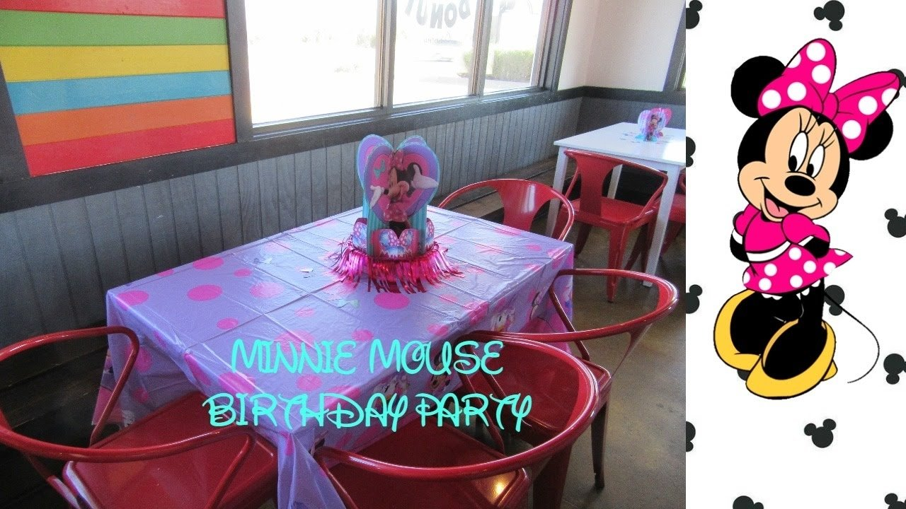 10 Lovable Party Ideas For A 2 Year Old minnie mouse birthday party ideas gift ideas for a 2 year old