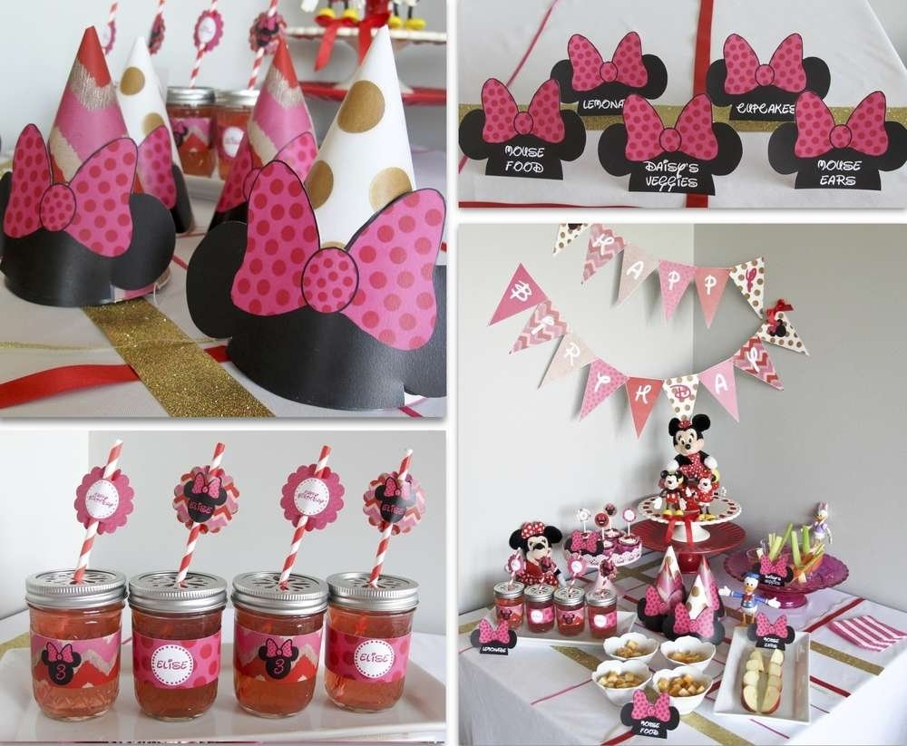 10 Fantastic Pink Minnie Mouse Party Ideas minnie mouse birthday party ideas photo 1 of 15 catch my party 2020