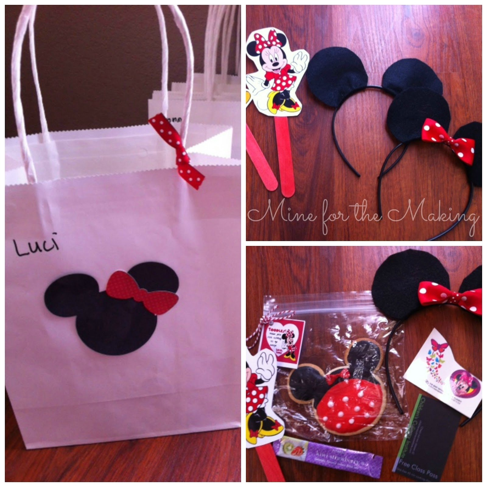 10 Gorgeous Minnie Mouse Goody Bags Ideas Birthday Party Reveal Mine For The Making