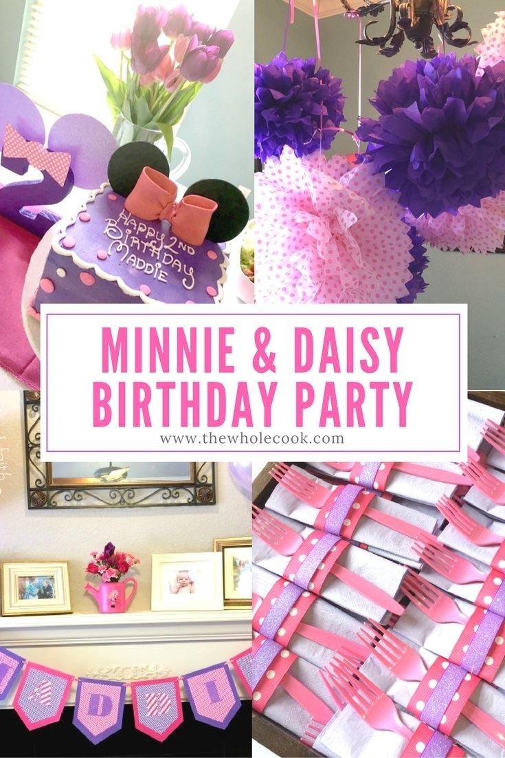 10 Most Popular Birthday Party Ideas Richmond Va Minnie Mouse Ryleighs 3rd