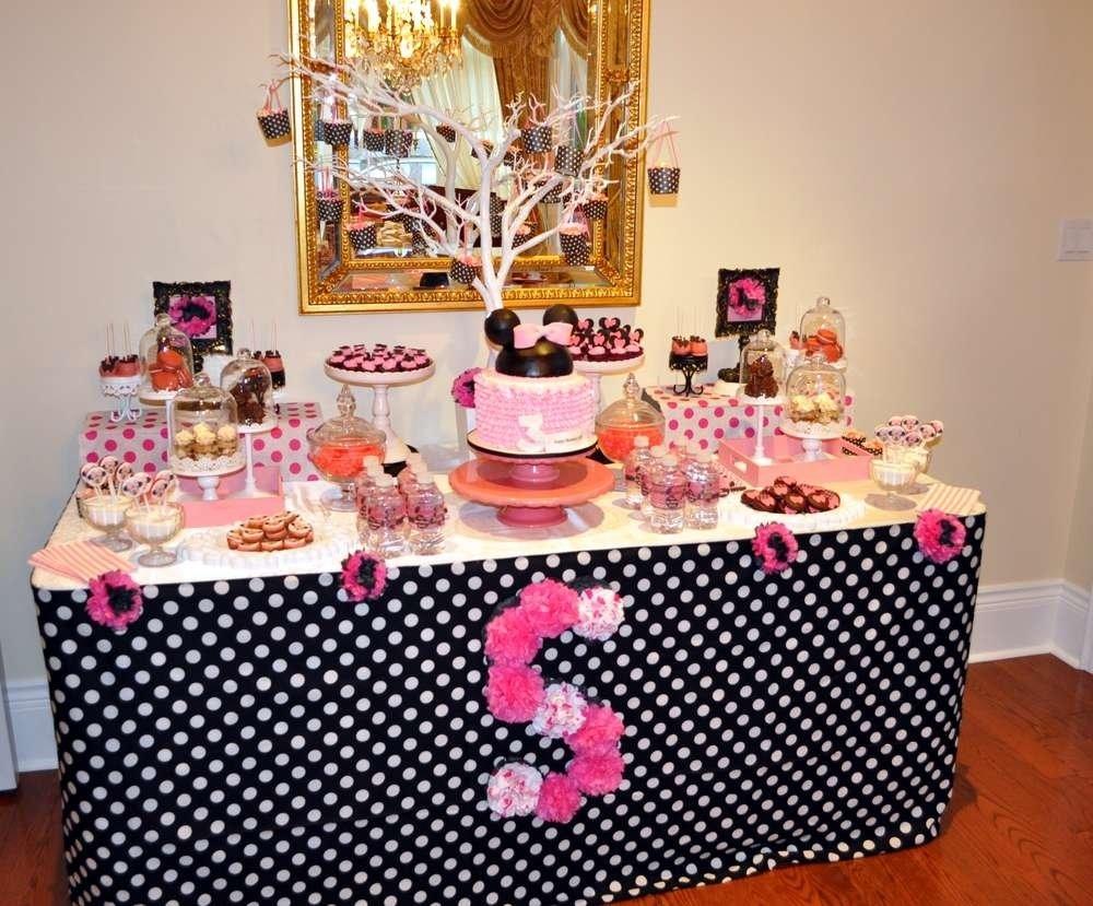 10 Wonderful Minnie Mouse Bowtique Party Ideas minnie mouse bow tique birthday party ideas photo 10 of 11 catch 2020