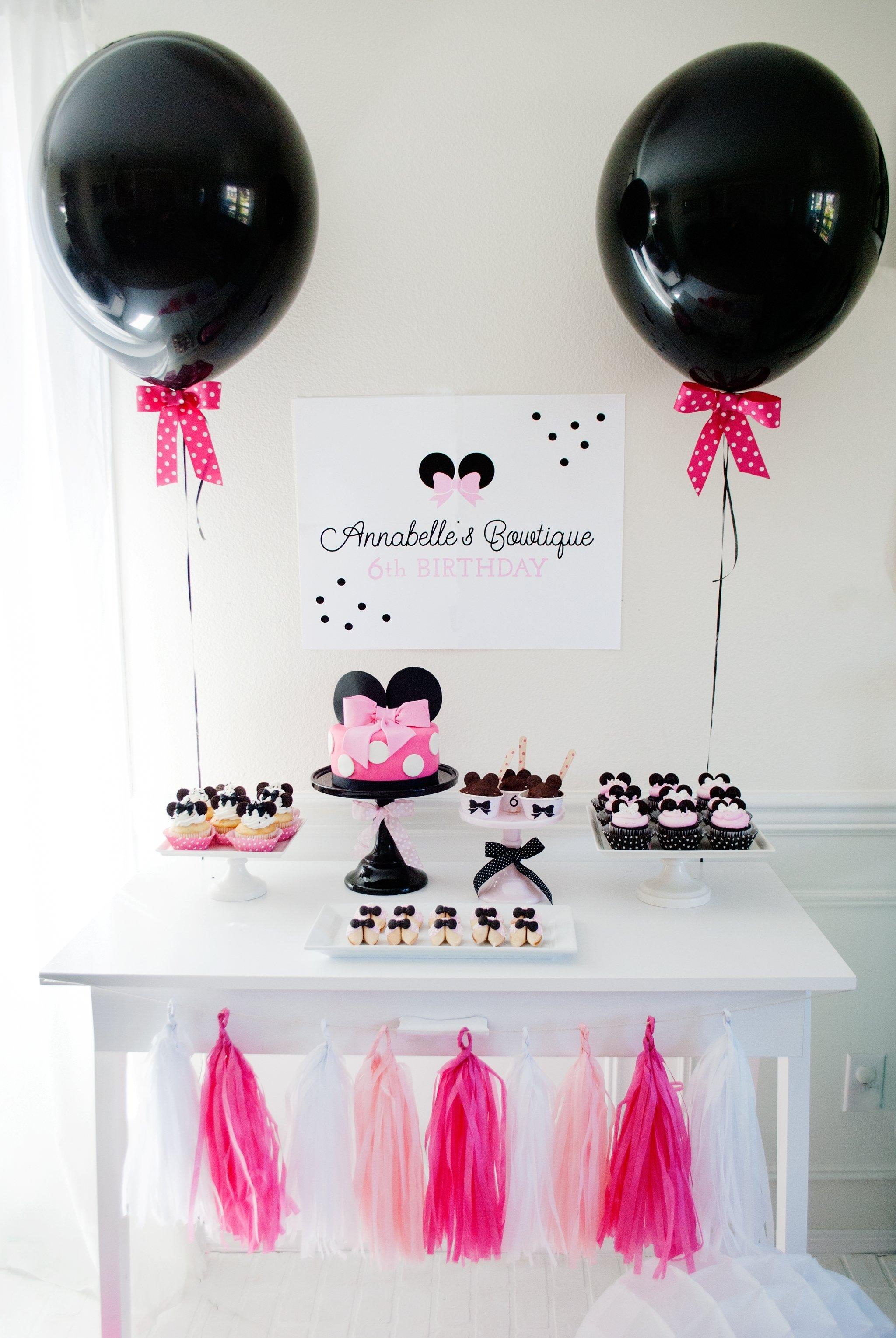 10 Wonderful Minnie Mouse Bowtique Party Ideas minnie mouse bowtique birthday party project nursery 2020