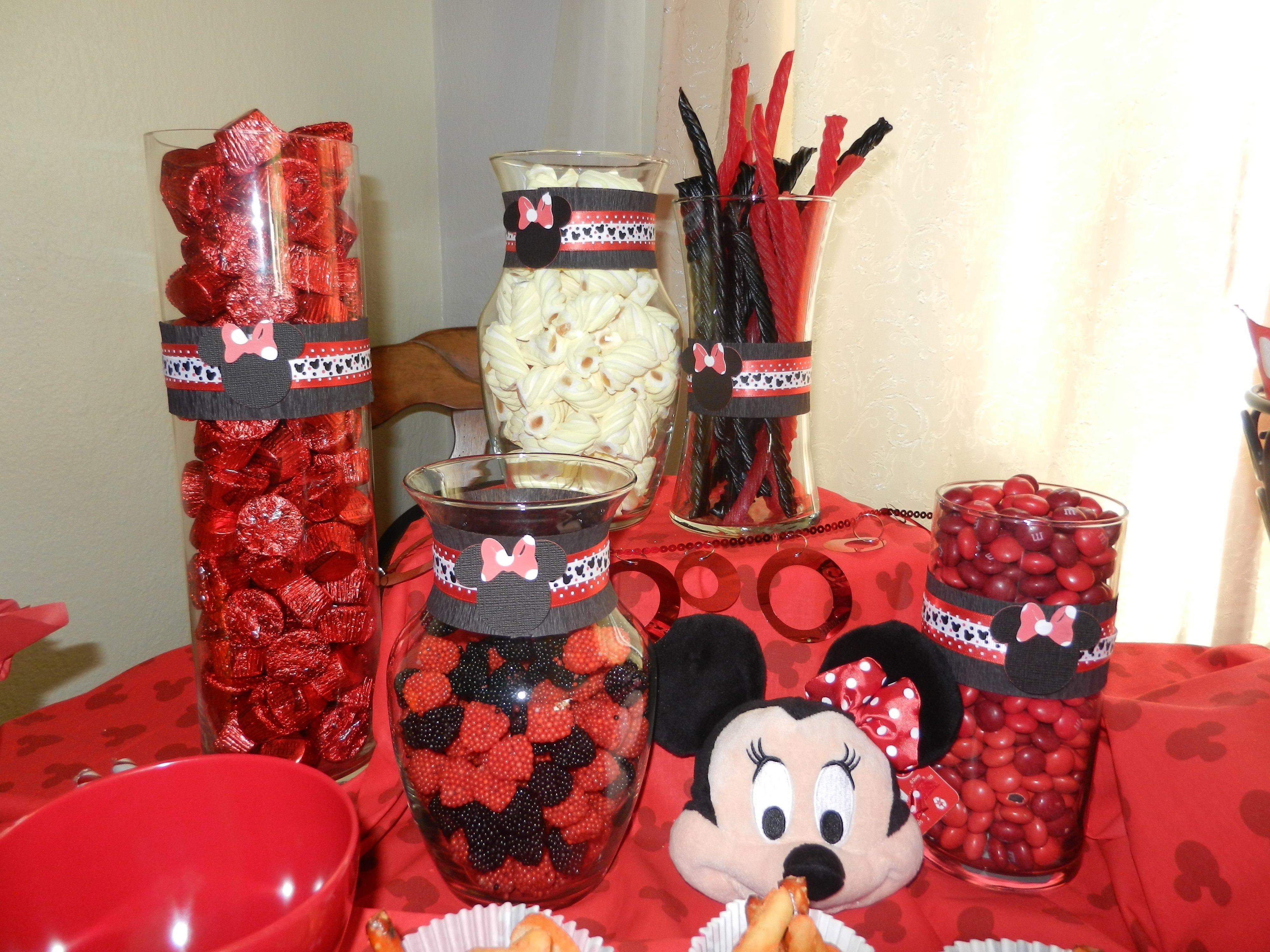 10 Wonderful Minnie Mouse Candy Bar Ideas minnie mouse candy bar party ideas pinterest minnie mouse 2021