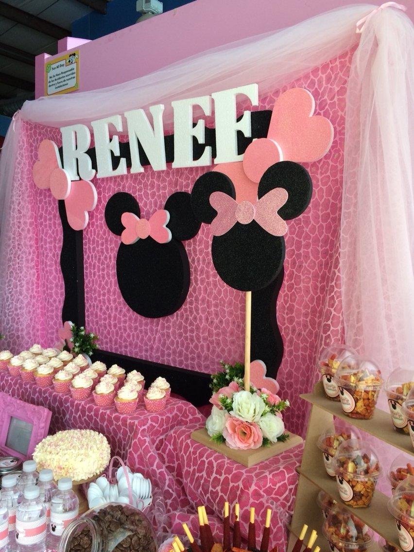 10 Wonderful Minnie Mouse Candy Bar Ideas minnie mouse candy bar reinas birthday party pinterest minnie 2021