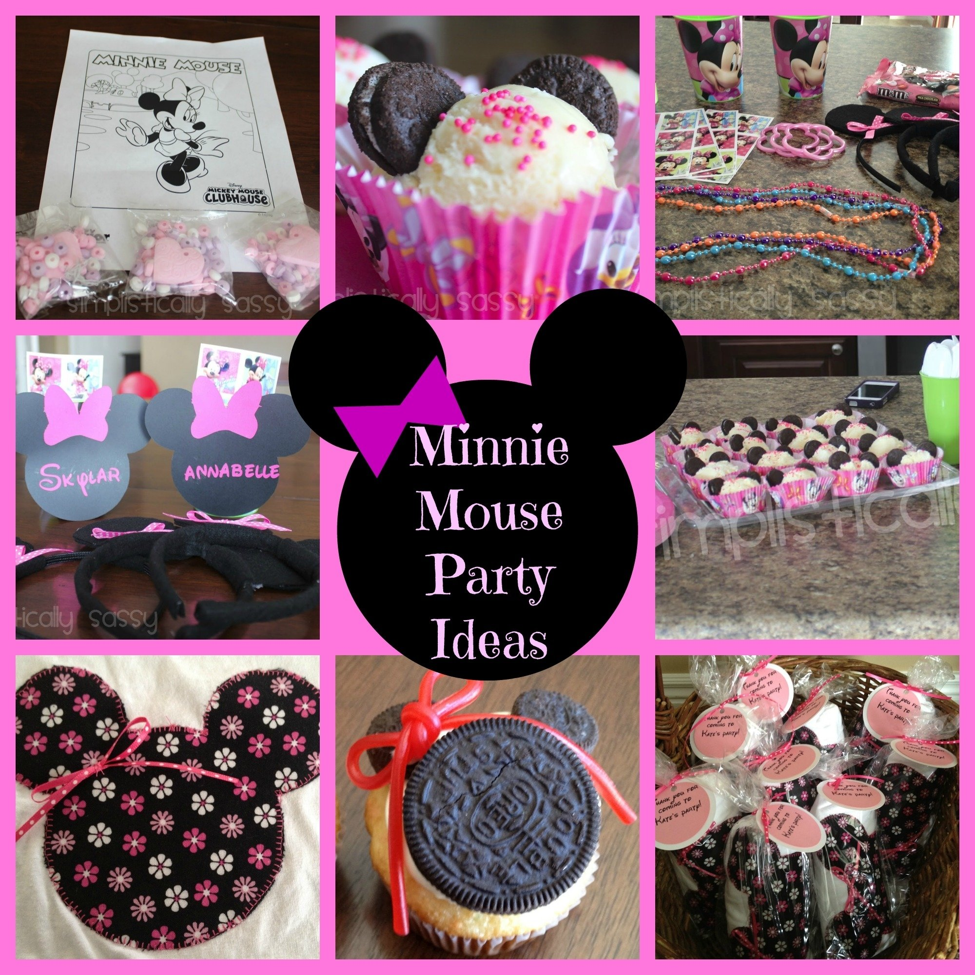 minnie mouse party ideas - events to celebrate!