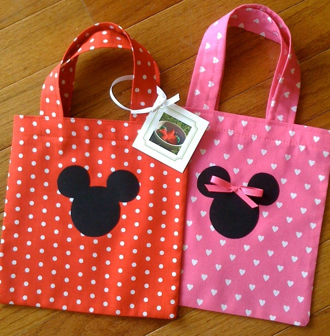 10 Beautiful Minnie Mouse Candy Bags Ideas minnie mouse party making 20 mickey and minnie mouse goody bags 2