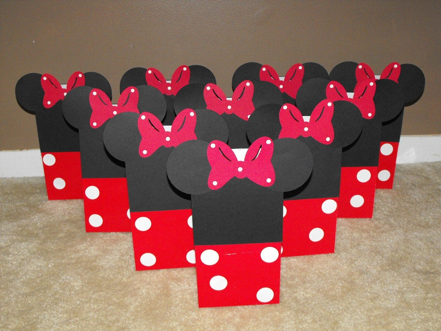 10 Stylish Red Minnie Mouse Party Ideas minnie mouse party supplies nisartmacka