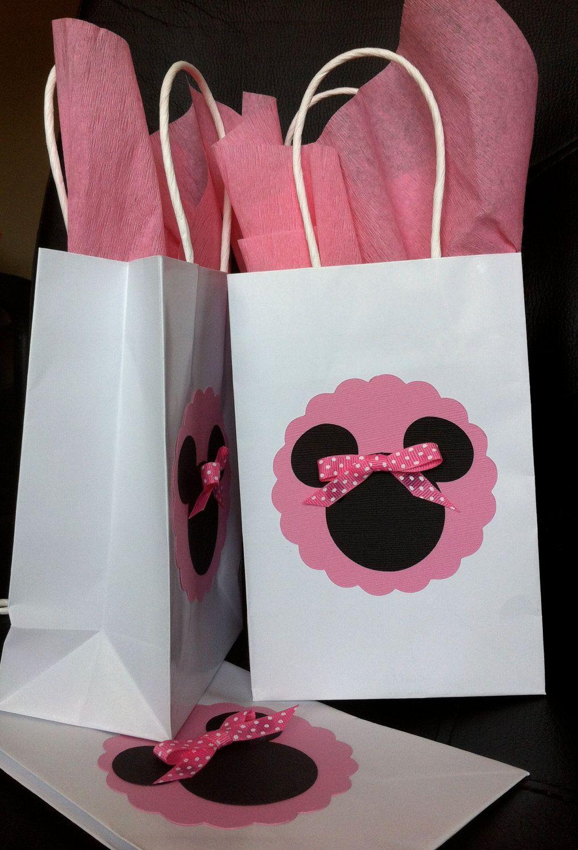 10 Pretty Minnie Mouse Candy Bag Ideas minnie or mickey mouse treat goody bag mickey mouse treats 2 2020