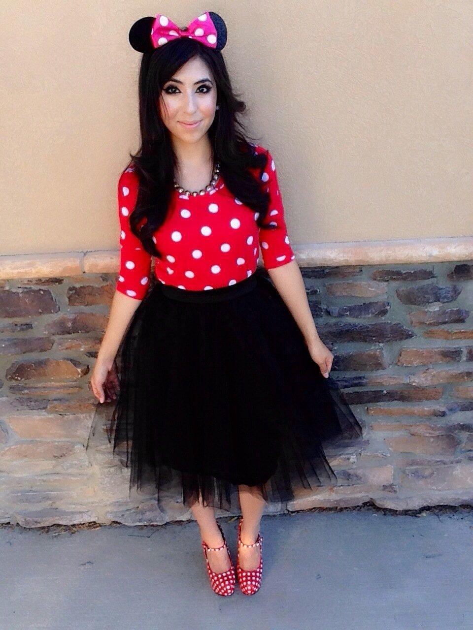 10 Great Minnie Mouse Costume Ideas For Women minniemouse a modest fashion faith blog 2020