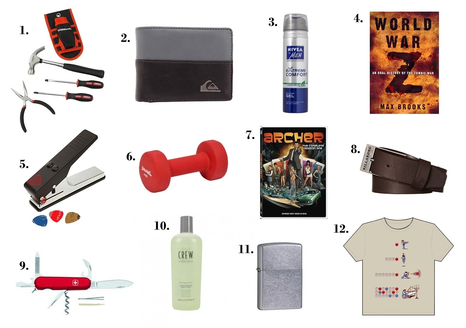 10 Fabulous Stocking Stuffers For Men Ideas mishelles sleepy time the holiday gift guide 2012 part 6 1 2020