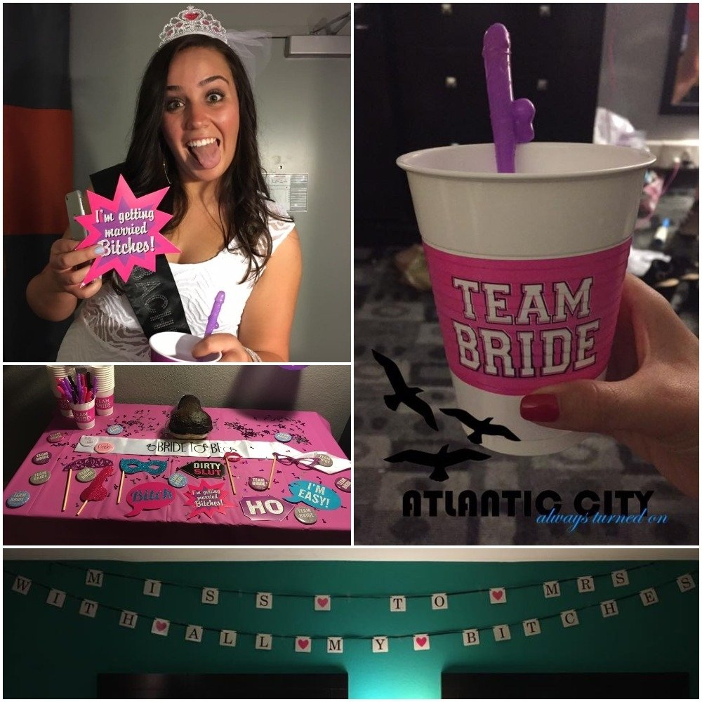 10 Amazing Bachelorette Party Ideas Atlantic City miss to mrs with all my bitches atlantic city bachelorette party