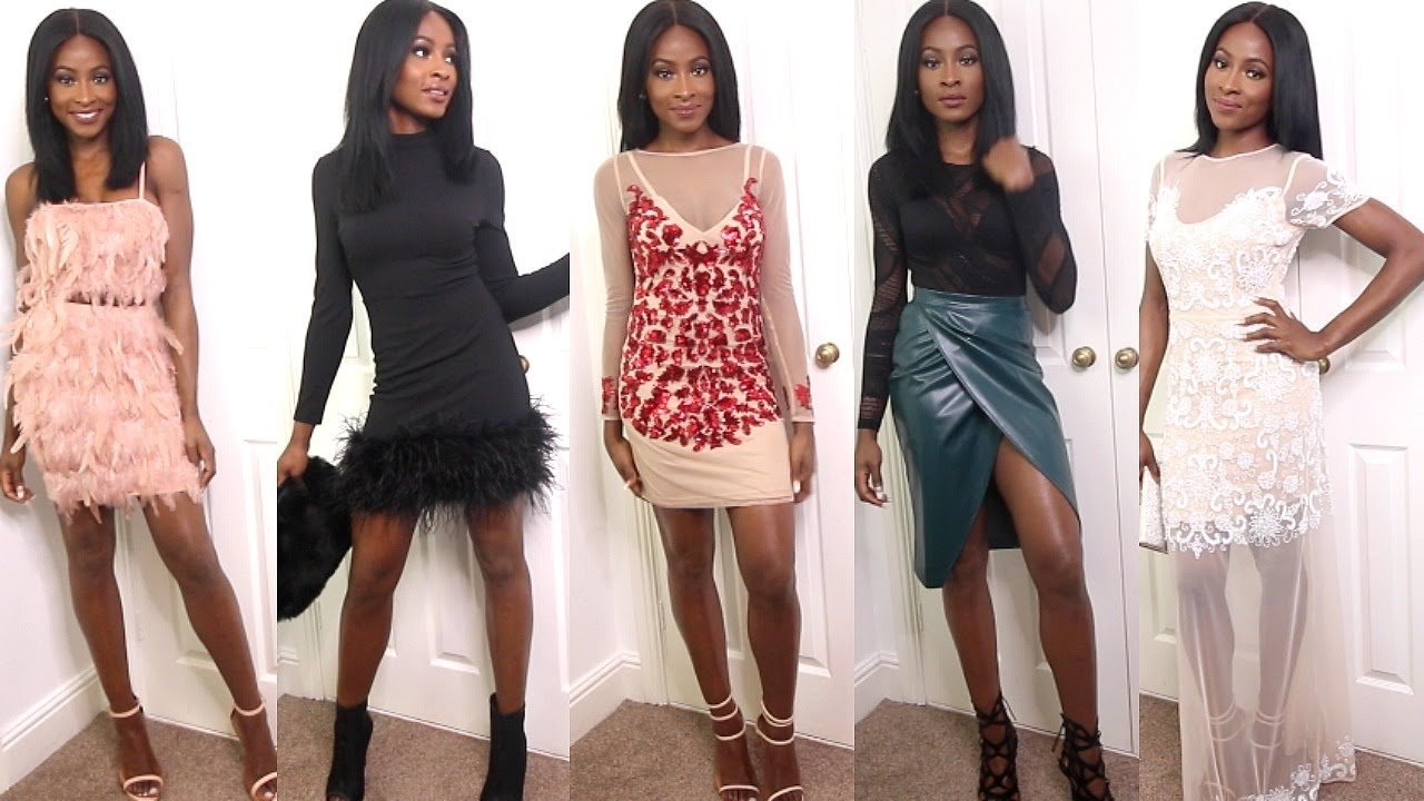 10 Famous Christmas Outfits For Women Ideas missguided christmas party outfit ideas ad youtube 2021