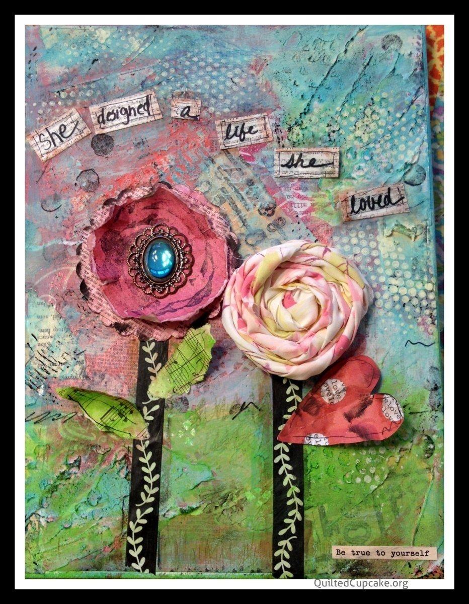 10 Lovable Mixed Media Canvas Art Ideas mixed media art canvas ideas