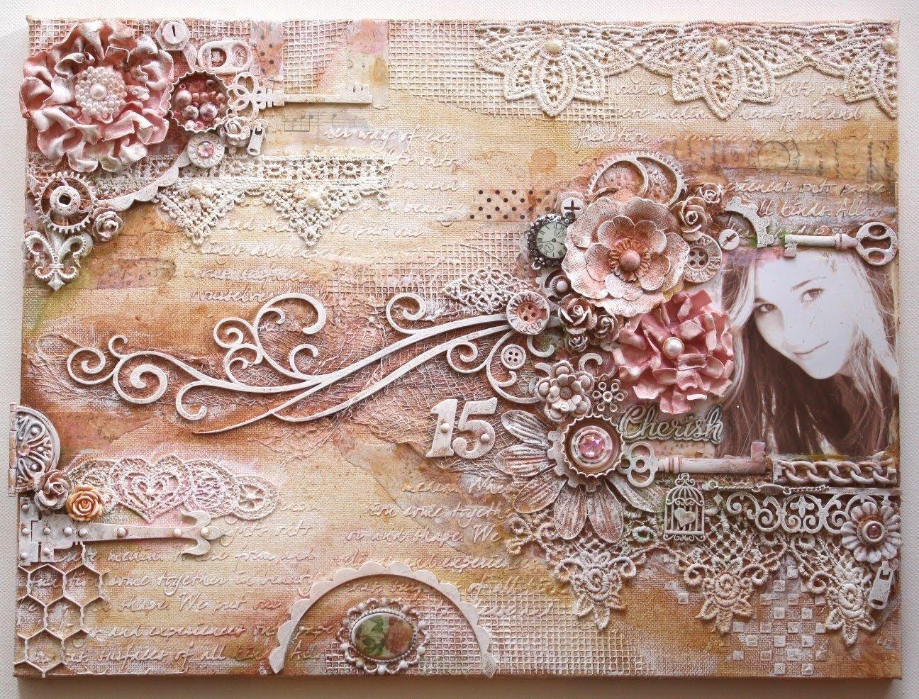 10 Lovable Mixed Media Canvas Art Ideas mixed media canvasgabrielle pollacco youtube