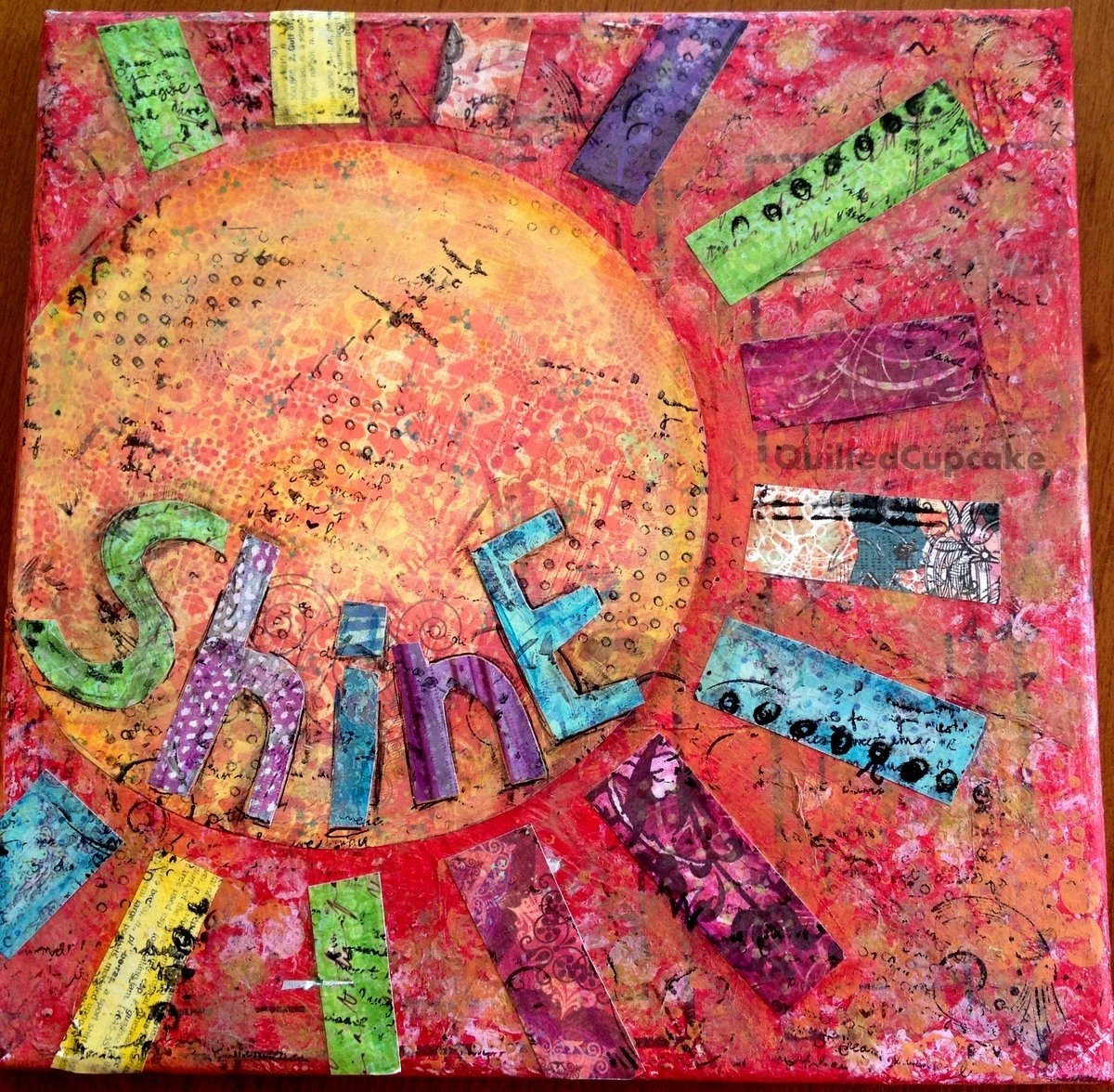 10 Lovable Mixed Media Canvas Art Ideas mixed media collage art canvas ideas and projects 1
