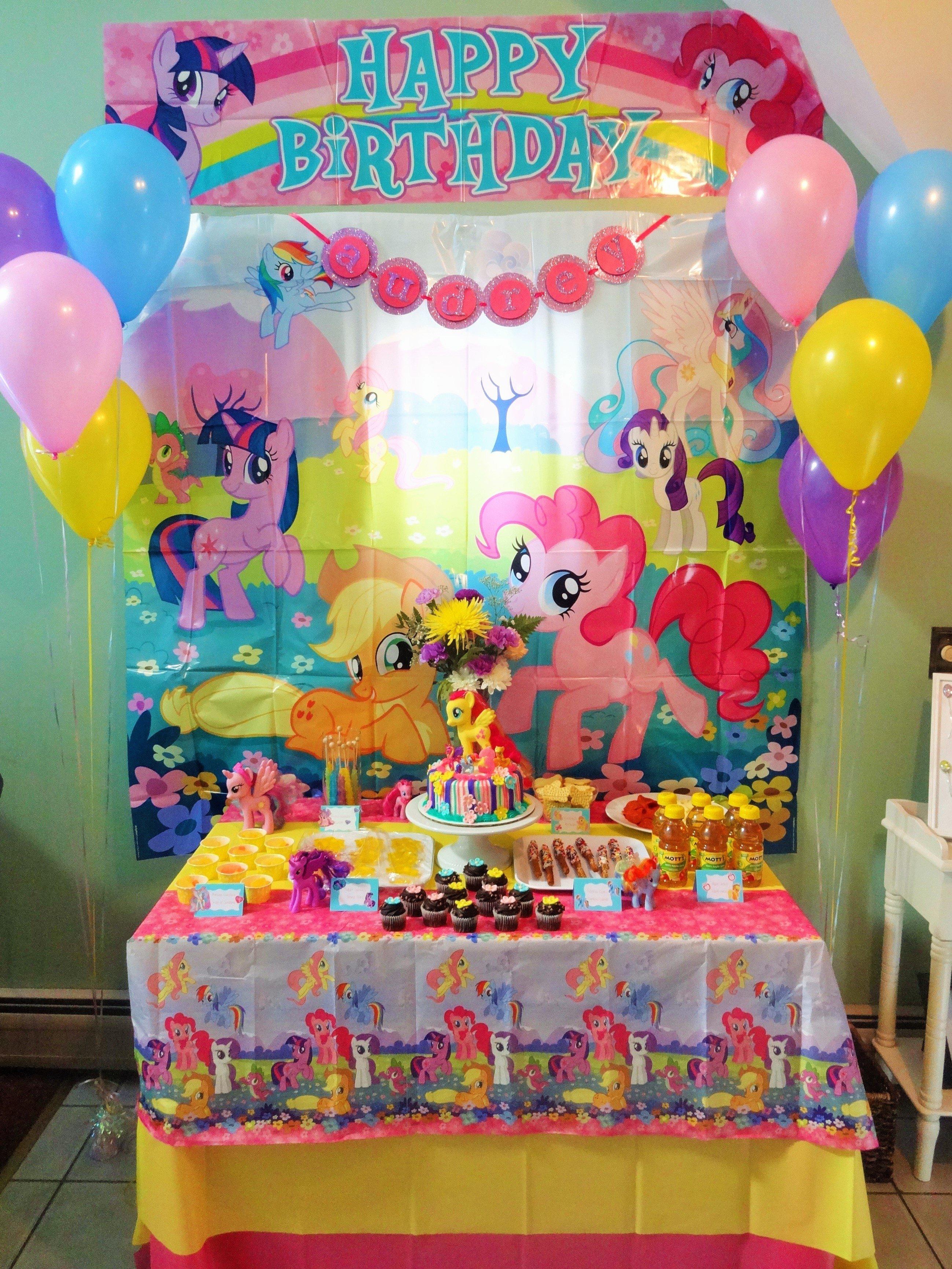 10 Pretty My Little Pony Birthday Party Ideas mlp birthday card new 8 my little pony centerpiece printable my 2021
