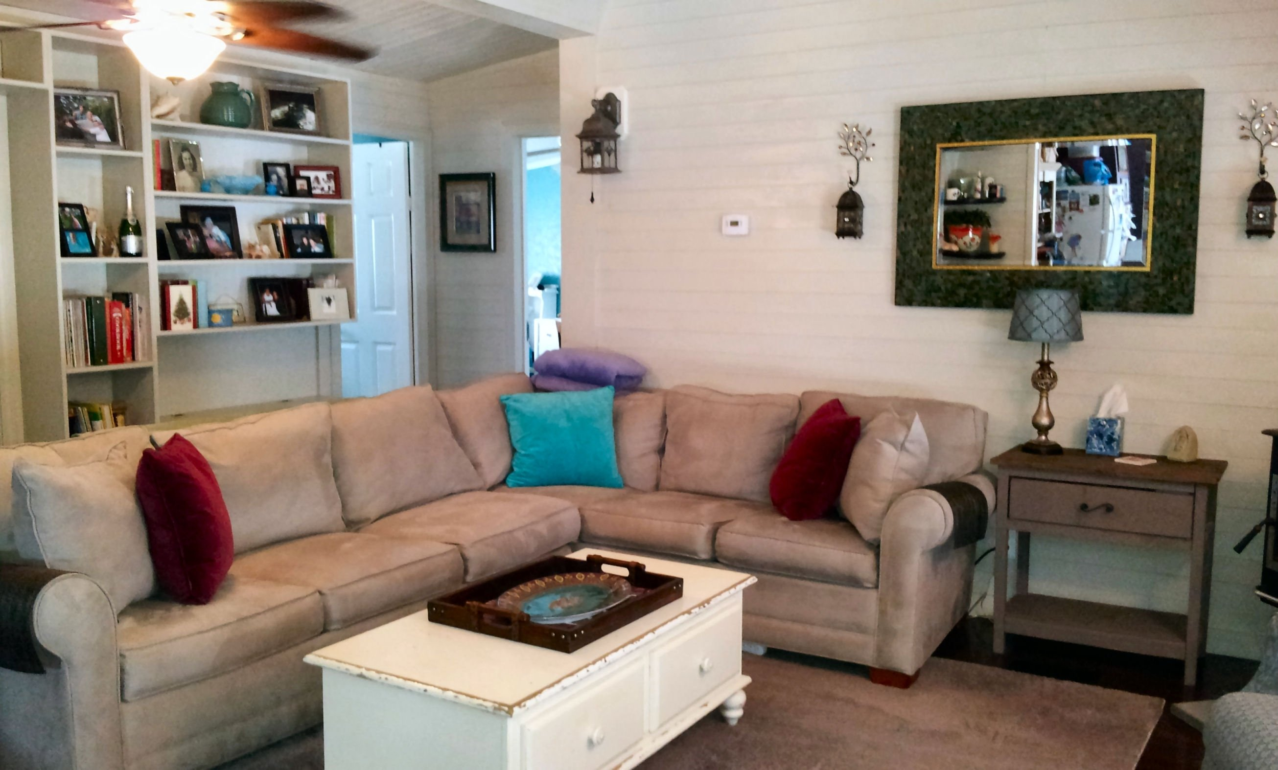 10 Nice Mobile Home Living Room Ideas mobile home living room remodel the finale my mobile home makeover 2021