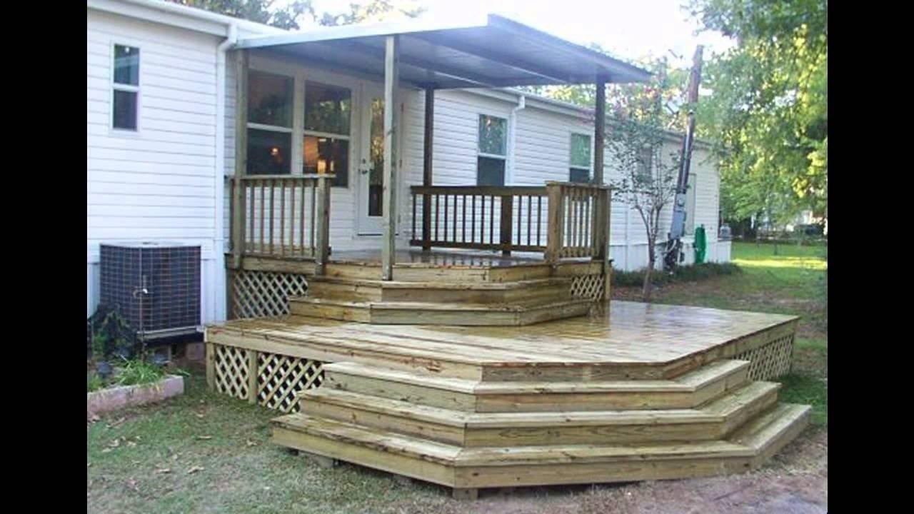 mobile home porch ideas - youtube