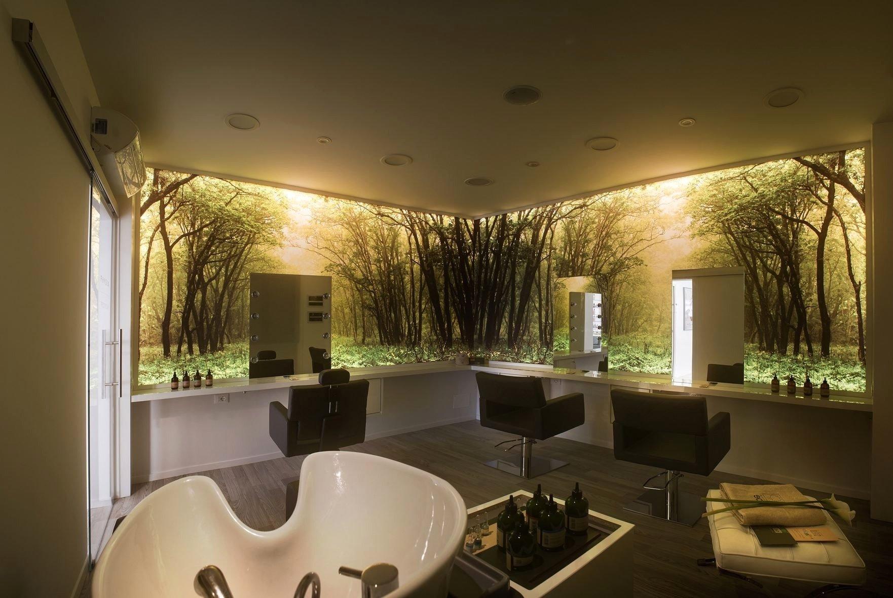 10 Ideal Nail Salon Interior Design Ideas modern barber shop designs small nail salon design ideas hair avec 2020