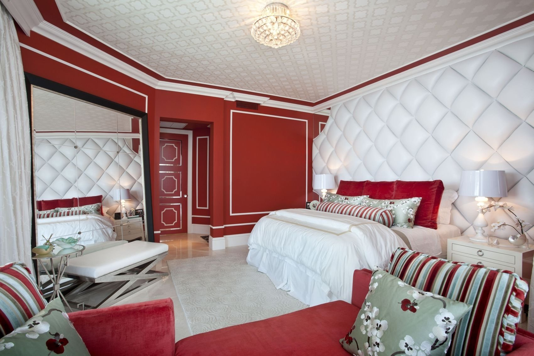 10 Lovely Black White And Red Bedroom Ideas modern bedroom decorating ideas black and white red black white and