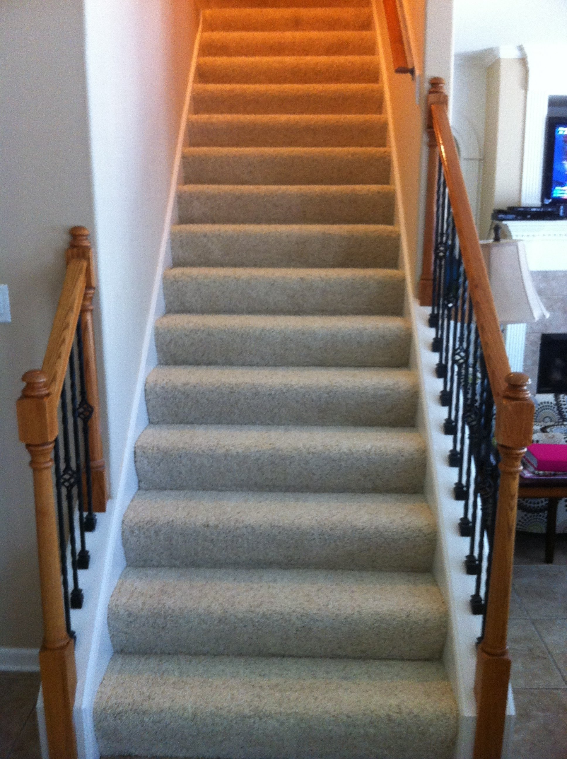 10 Gorgeous Ideas For Stairs Instead Of Carpet modern carpet on stairs with regard to stair installation idea 26 2021