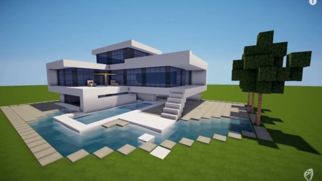 10 Lovable Building Ideas For Minecraft Pe modern house designs on minecraft pe 12 marvellous inspiration ideas