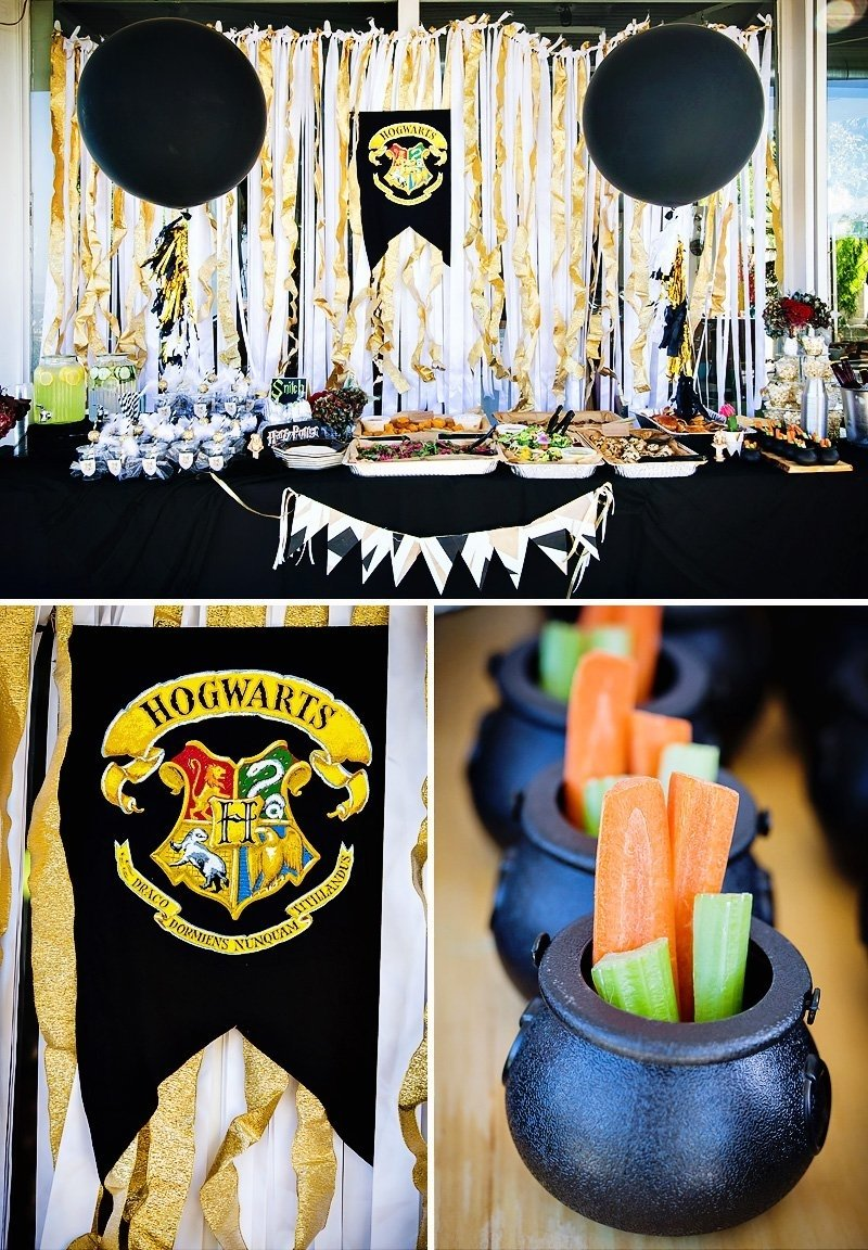 10 Famous Harry Potter Party Decoration Ideas modern magical harry potter birthday party harry potter harry 2021