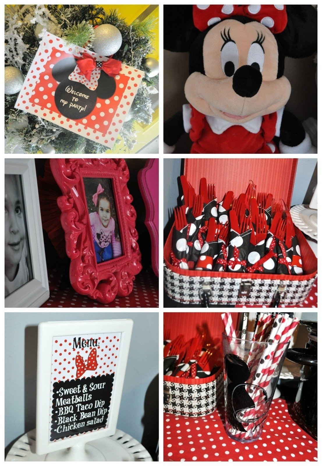 10 Stylish Red Minnie Mouse Party Ideas modern minnie mouse party decor favors pretty real 2020