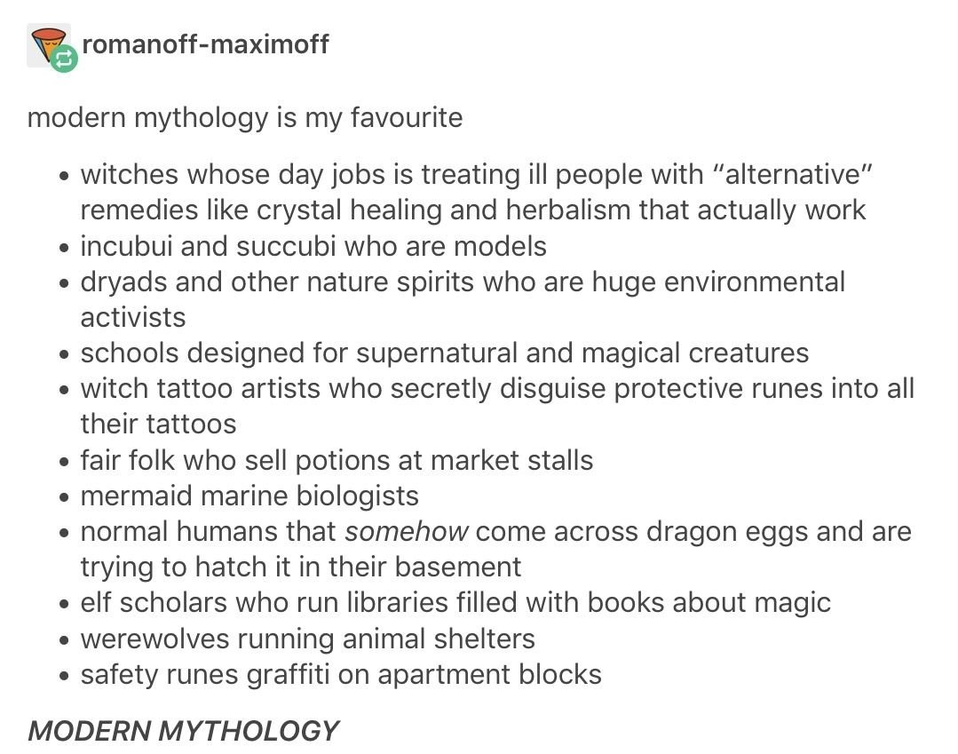 10 Lovely Good Book Ideas To Write modern mythology and urban fantasy writing prompts just let me