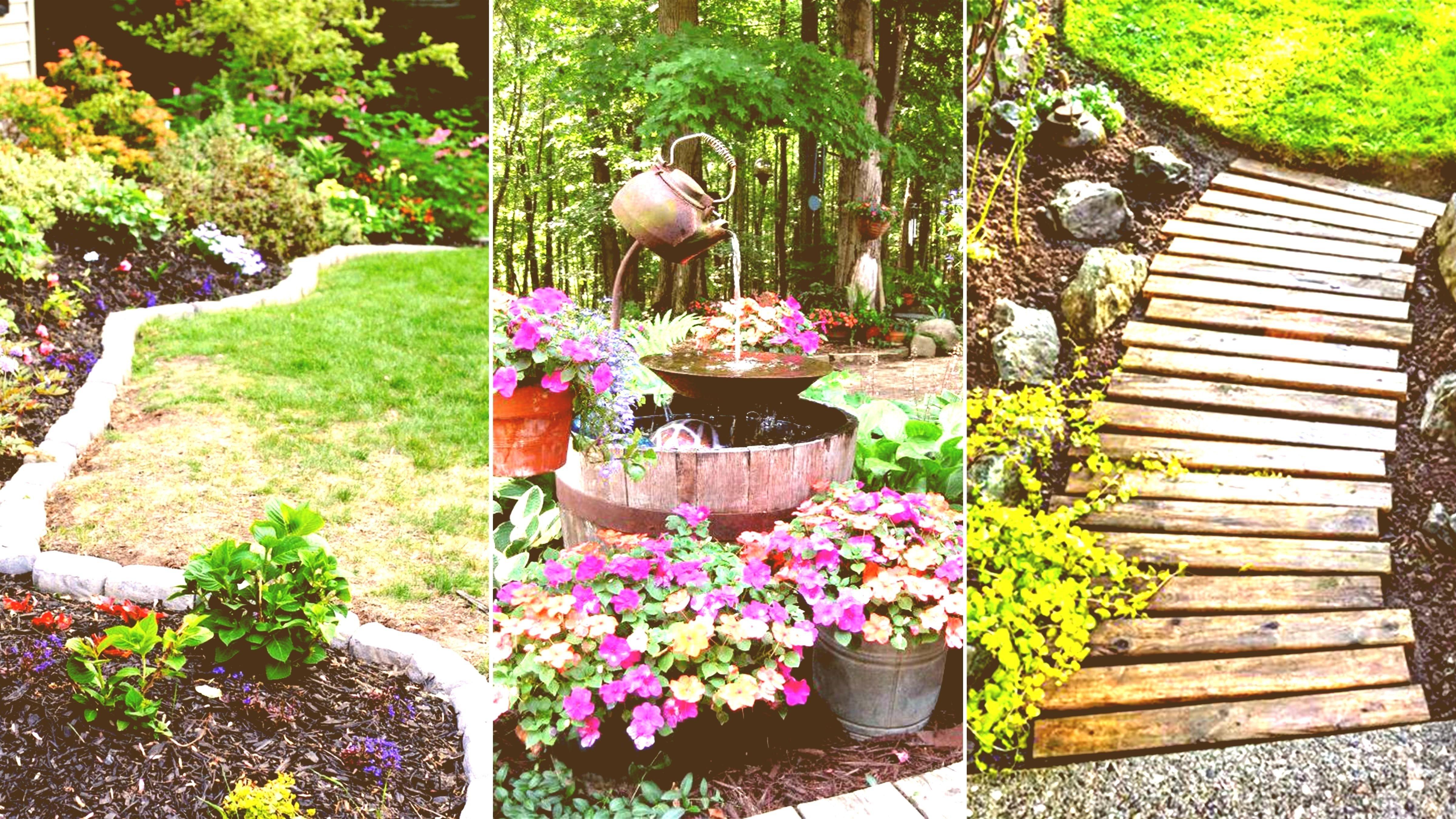 10 Perfect Garden Ideas On A Budget modern small garden ideas on a budget no grass pattern better 2021