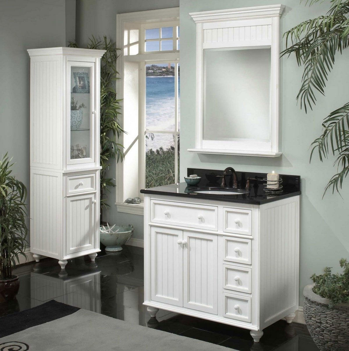 10 Attractive Bathroom Cabinet Ideas For Small Bathroom modern white small bathroom vanities decobizz