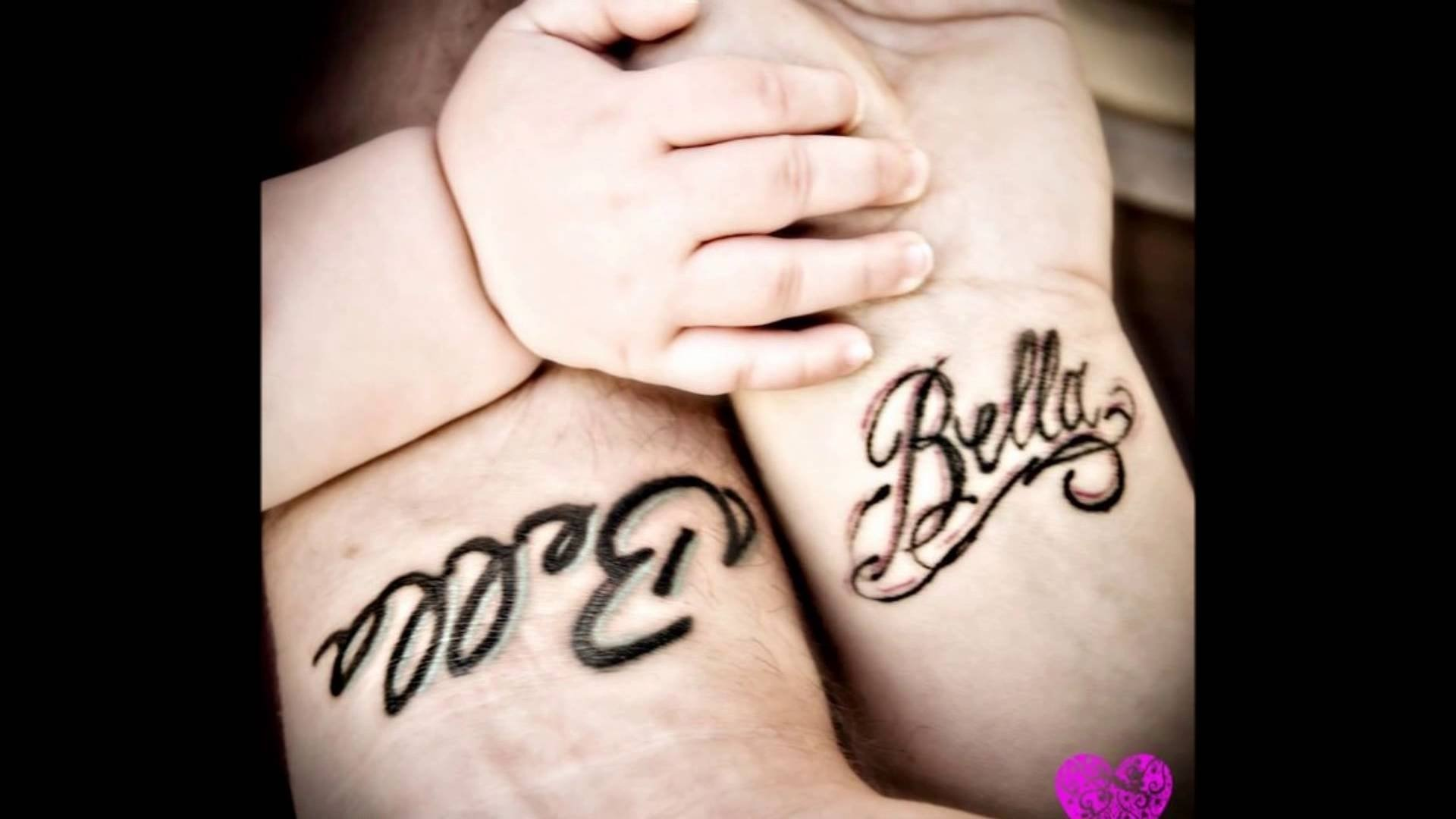 10 Unique Child Tattoo Ideas For Mom mom and daughter tattoo ideas youtube 1 2020