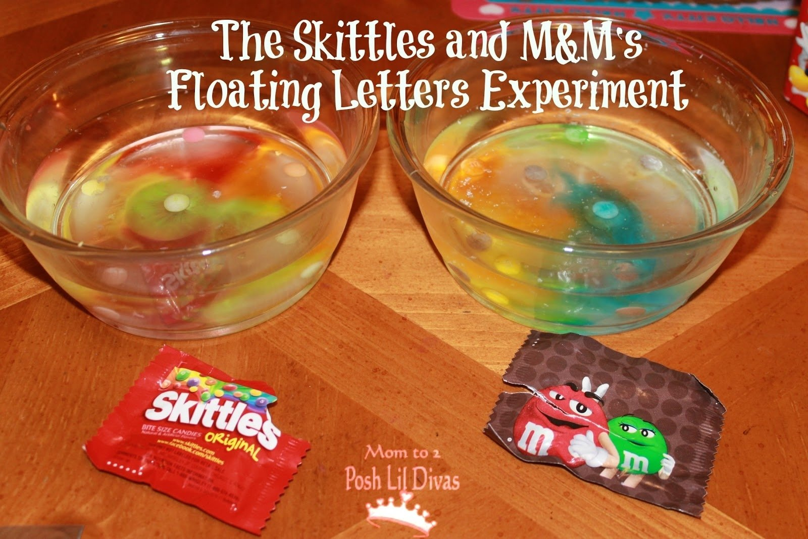 mom to 2 posh lil divas: 35+ candy experiments, learning activities