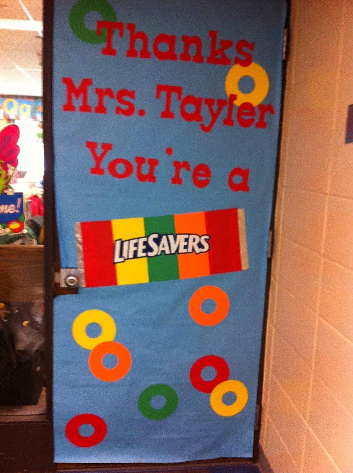 10 Unique Teacher Appreciation Door Decorating Ideas mommy lessons 101 teacher appreciation week door decorating ideas 2020
