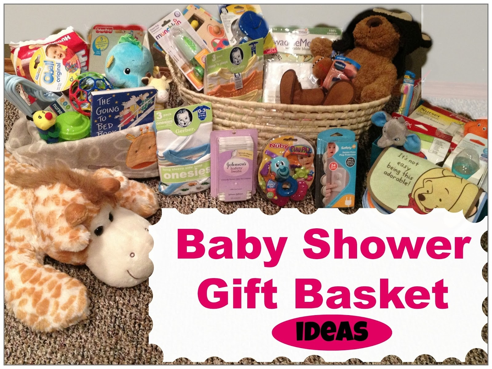 10 Stunning Baby Shower Gift Basket Ideas mommy mia monologues baby shower gift basket ideas