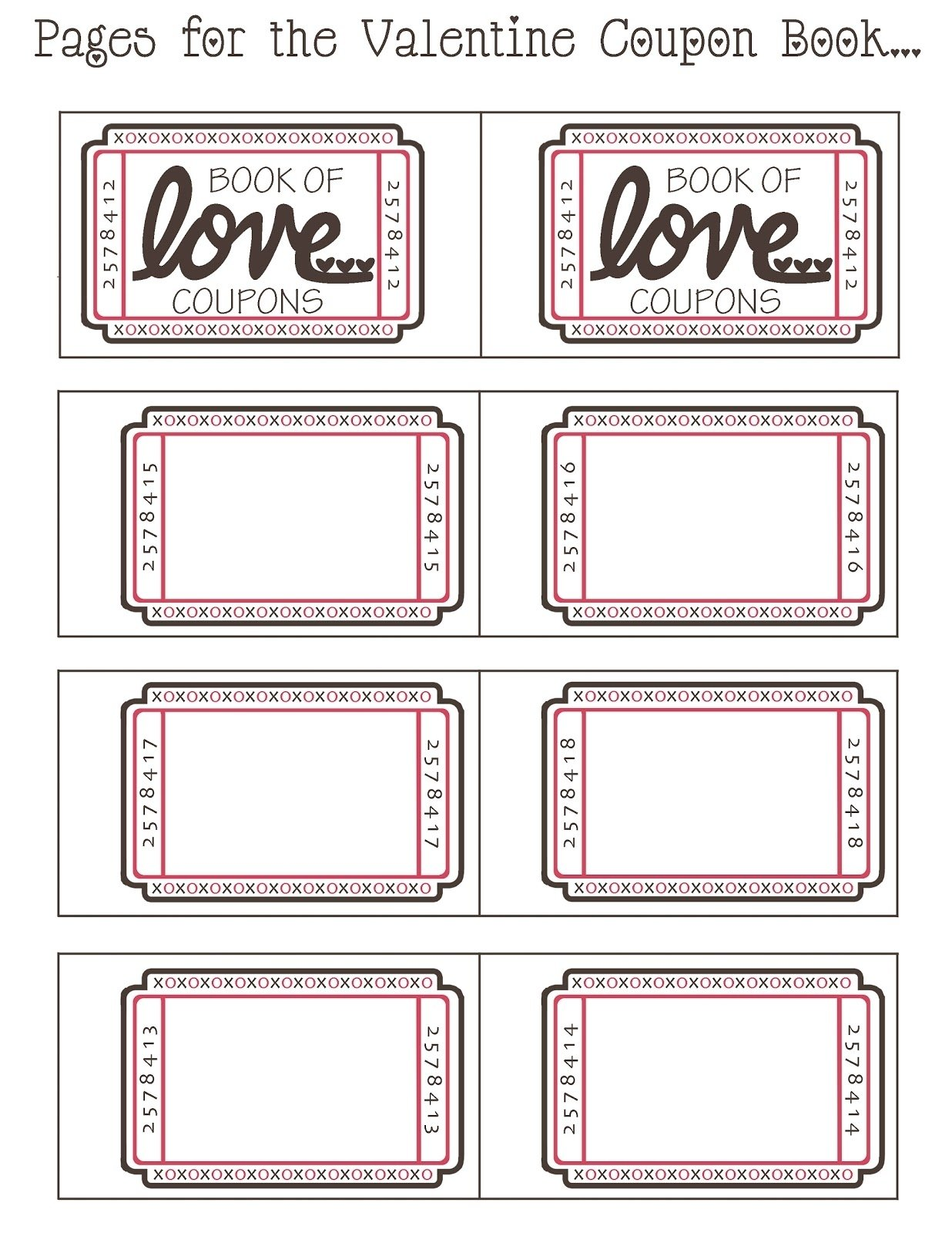 10 Wonderful Coupon Book Ideas For Girlfriend mommyday crafternight free printable valentine coupon book 1 2021