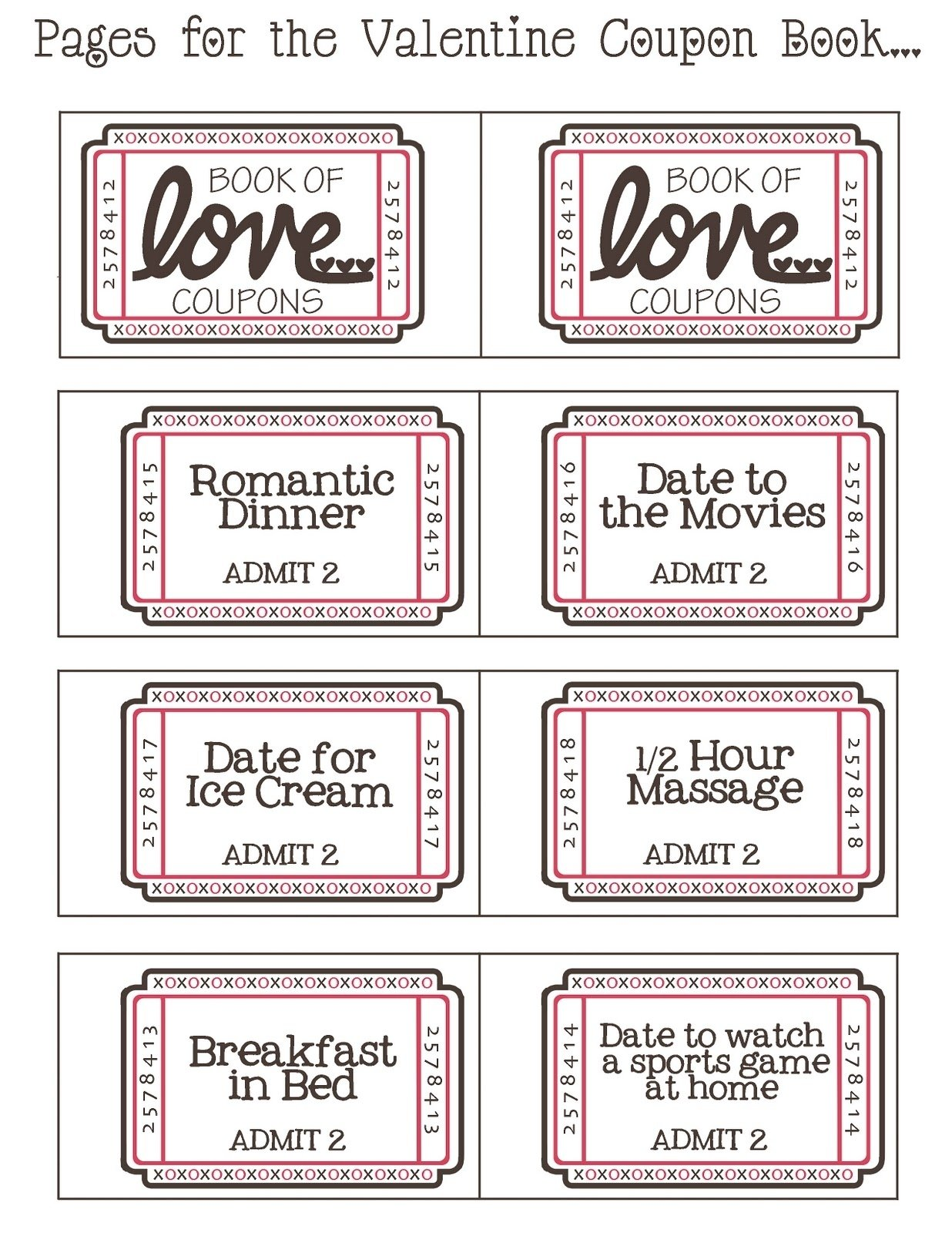 10 Stylish Love Coupon Ideas For Her mommyday crafternight free printable valentine coupon book 2 2021