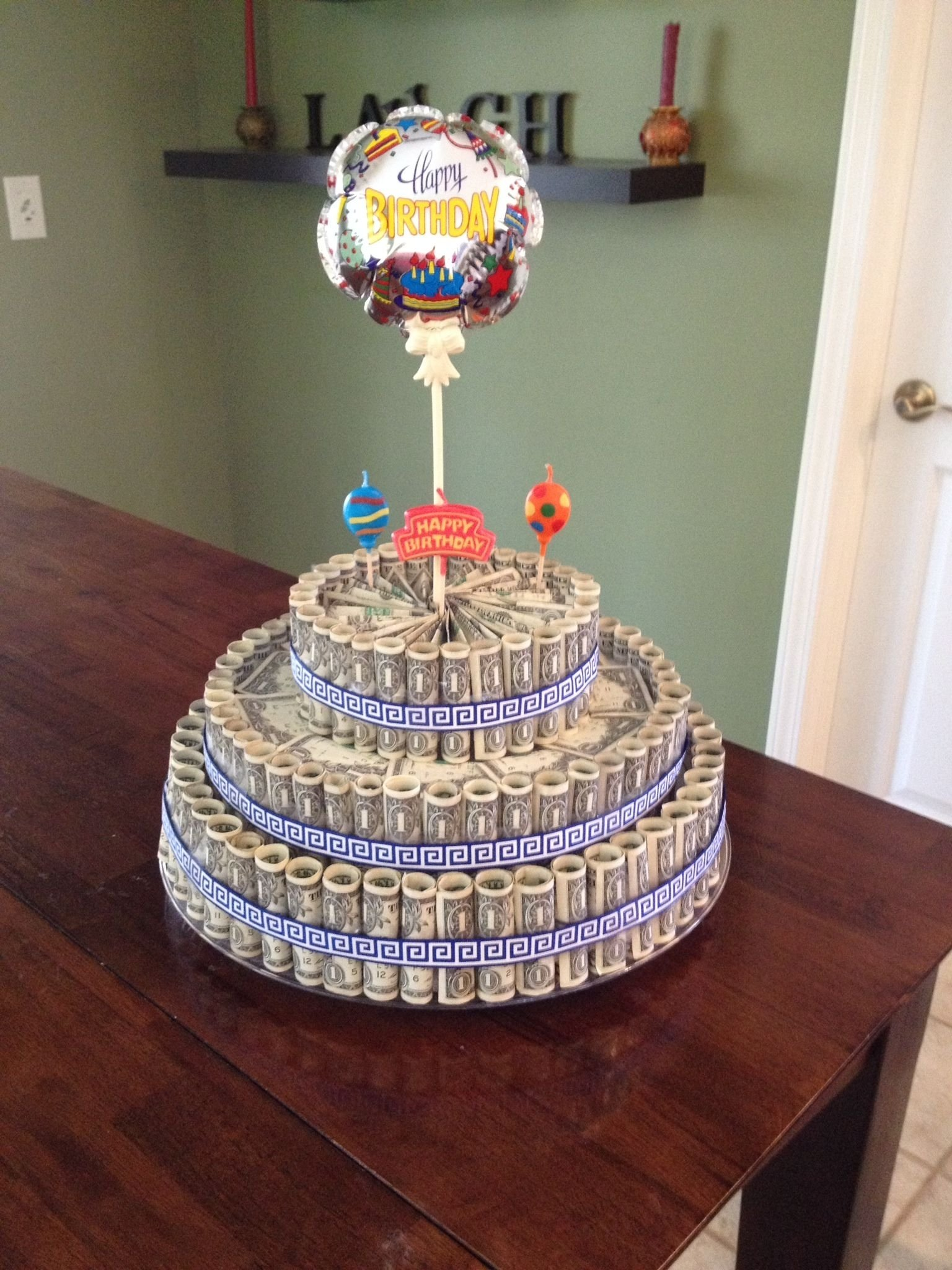 10 Wonderful Graduation Gift Ideas For Son money cake great gift idea for a graduate retiree or birthday my 1 2021