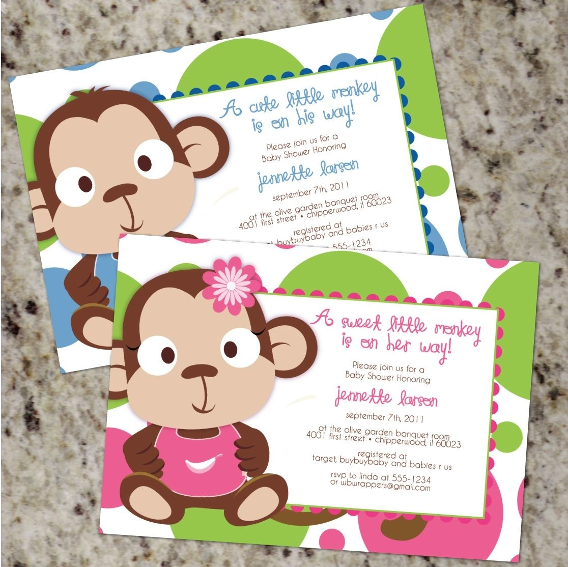 10 Most Popular Monkey Themed Baby Shower Ideas monkey themed baby shower invitations monkey themed baby shower 2020