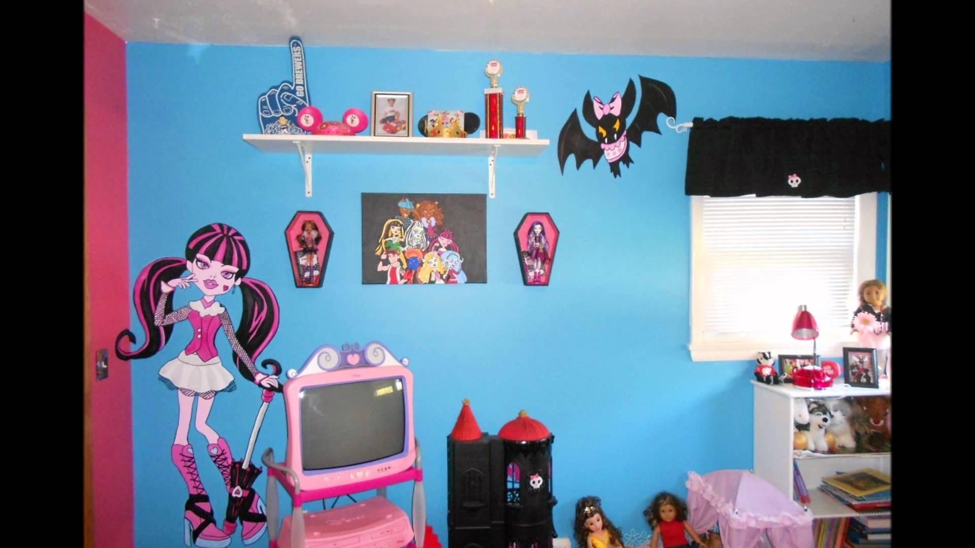 10 Trendy Monster High Room Decor Ideas monster high bedroom youtube 1 2020