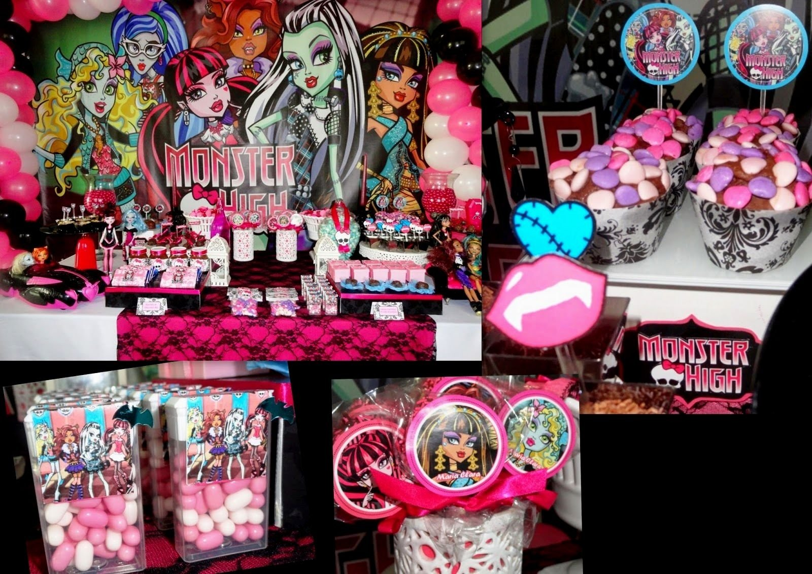 10 Fabulous Monster High Ideas For Birthday Party monster high birthday party ideas pinterest archives decorating of 1 2020