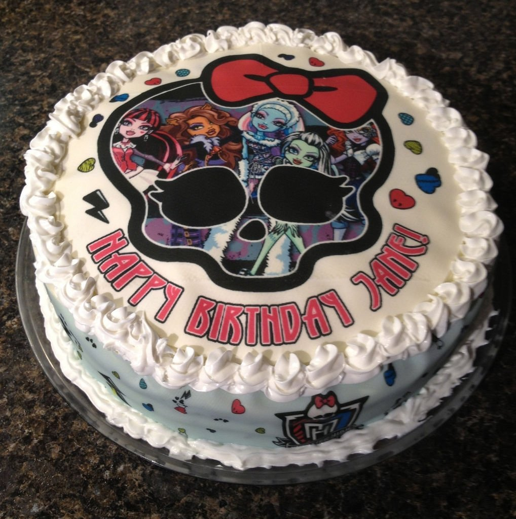 10 Lovable Monster High Birthday Cake Ideas monster high cakes decoration ideas little birthday cakes 1 2020