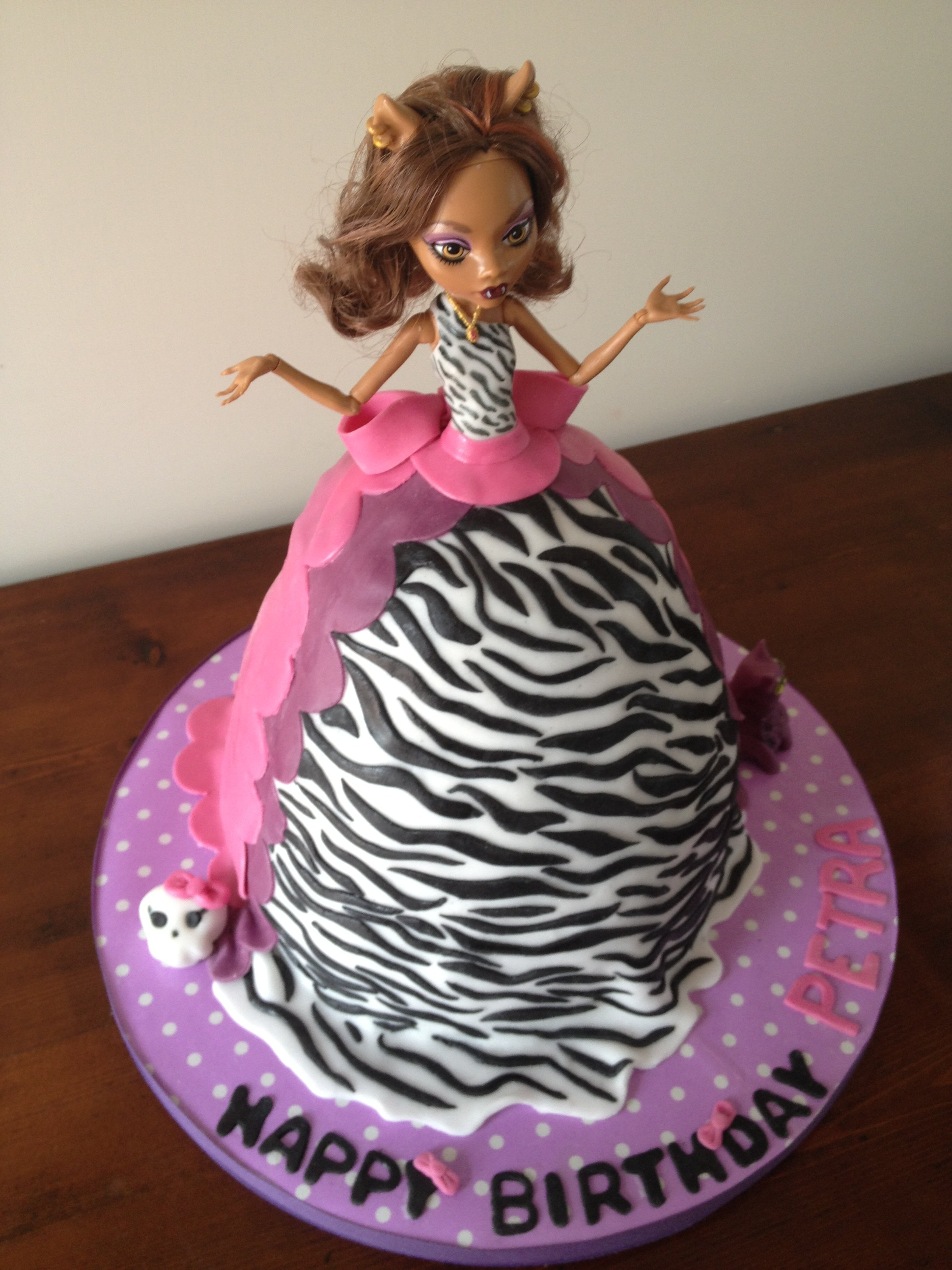 10 Lovable Monster High Birthday Cake Ideas monster high cakes decoration ideas little birthday cakes 2 2020