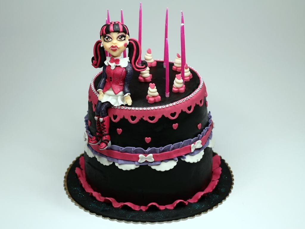 10 Lovable Monster High Birthday Cake Ideas monster high cakes decoration ideas little birthday cakes 2020
