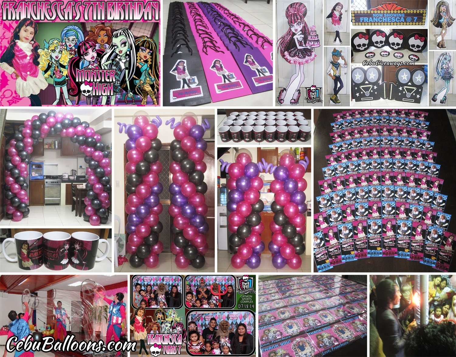 10 Fabulous Monster High Ideas For Birthday Party monster high cebu balloons and party supplies 2020