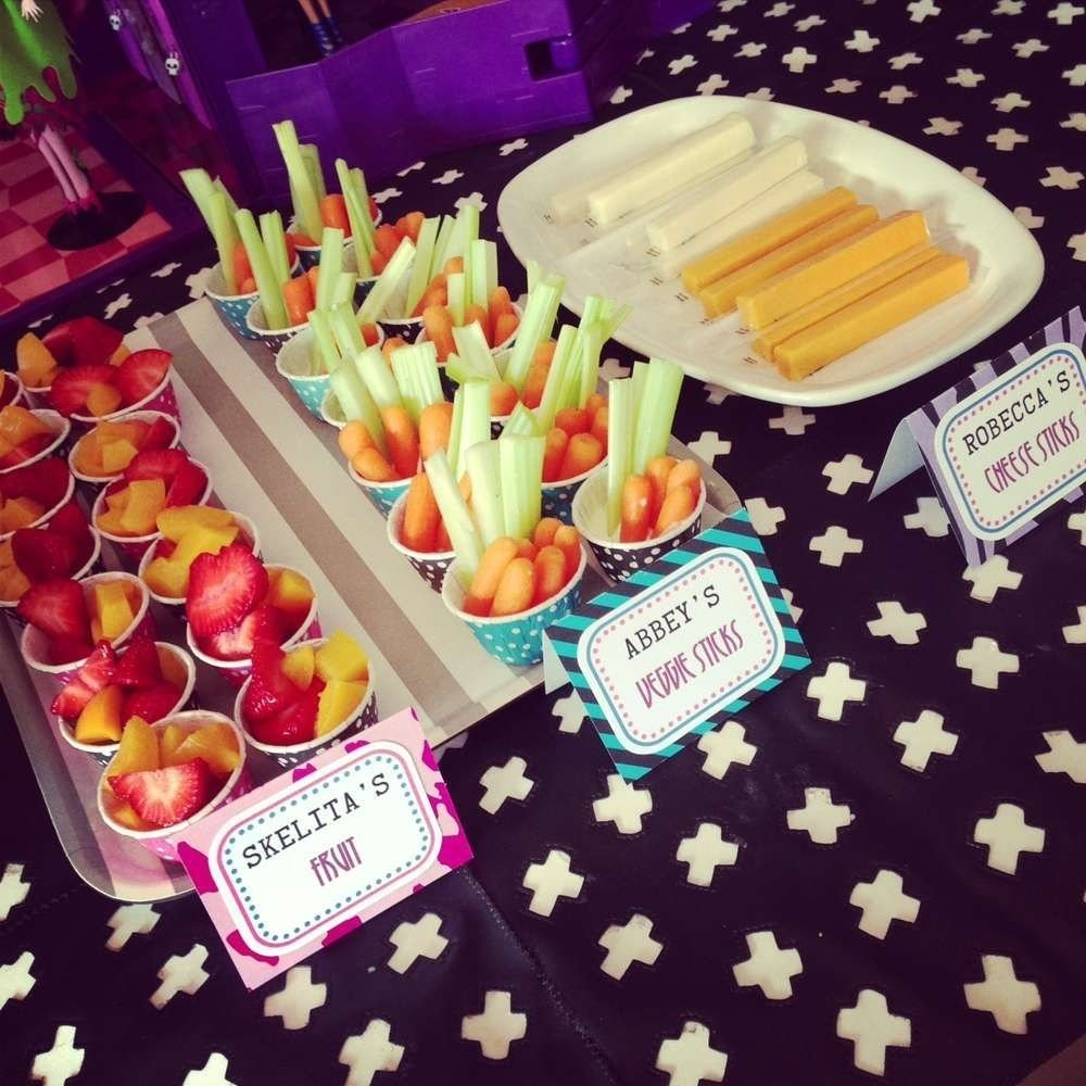 10 Lovely Monster High Party Food Ideas monster high fearleading camp birthday party ideas monster high 2020
