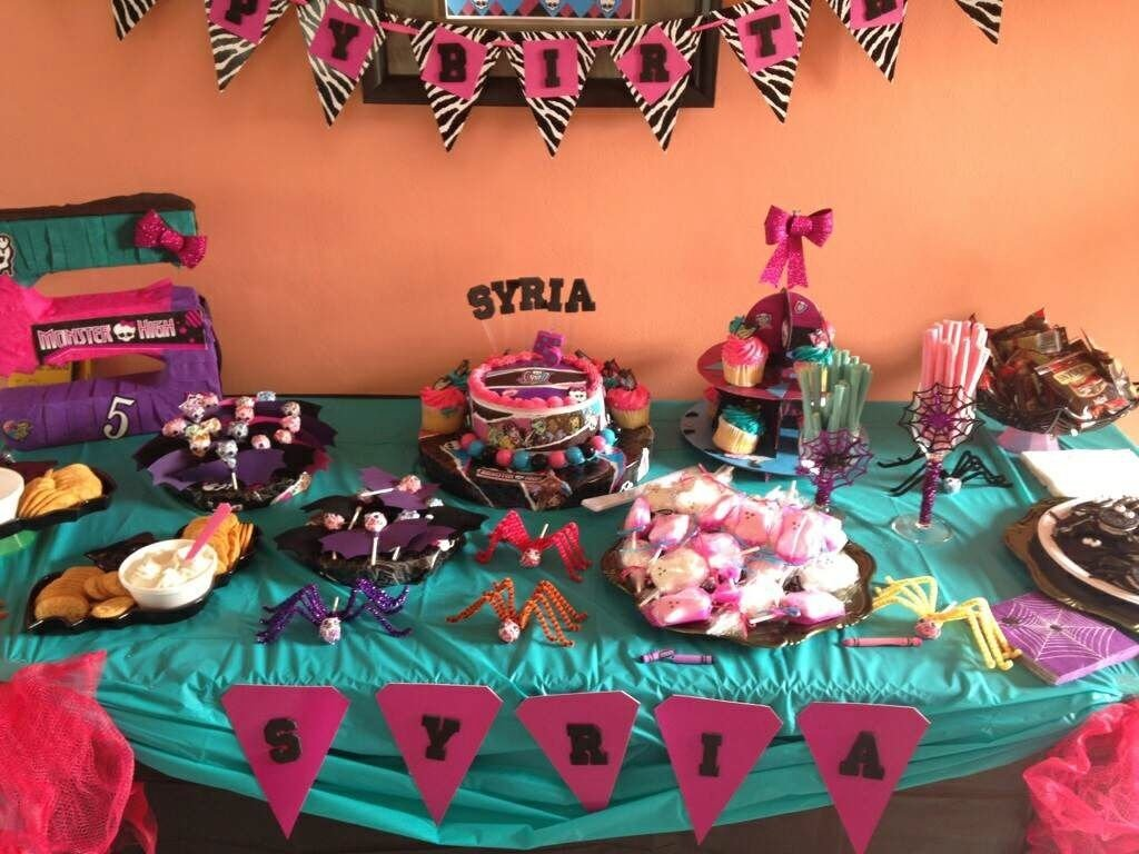 10 lovely monster high party food ideas