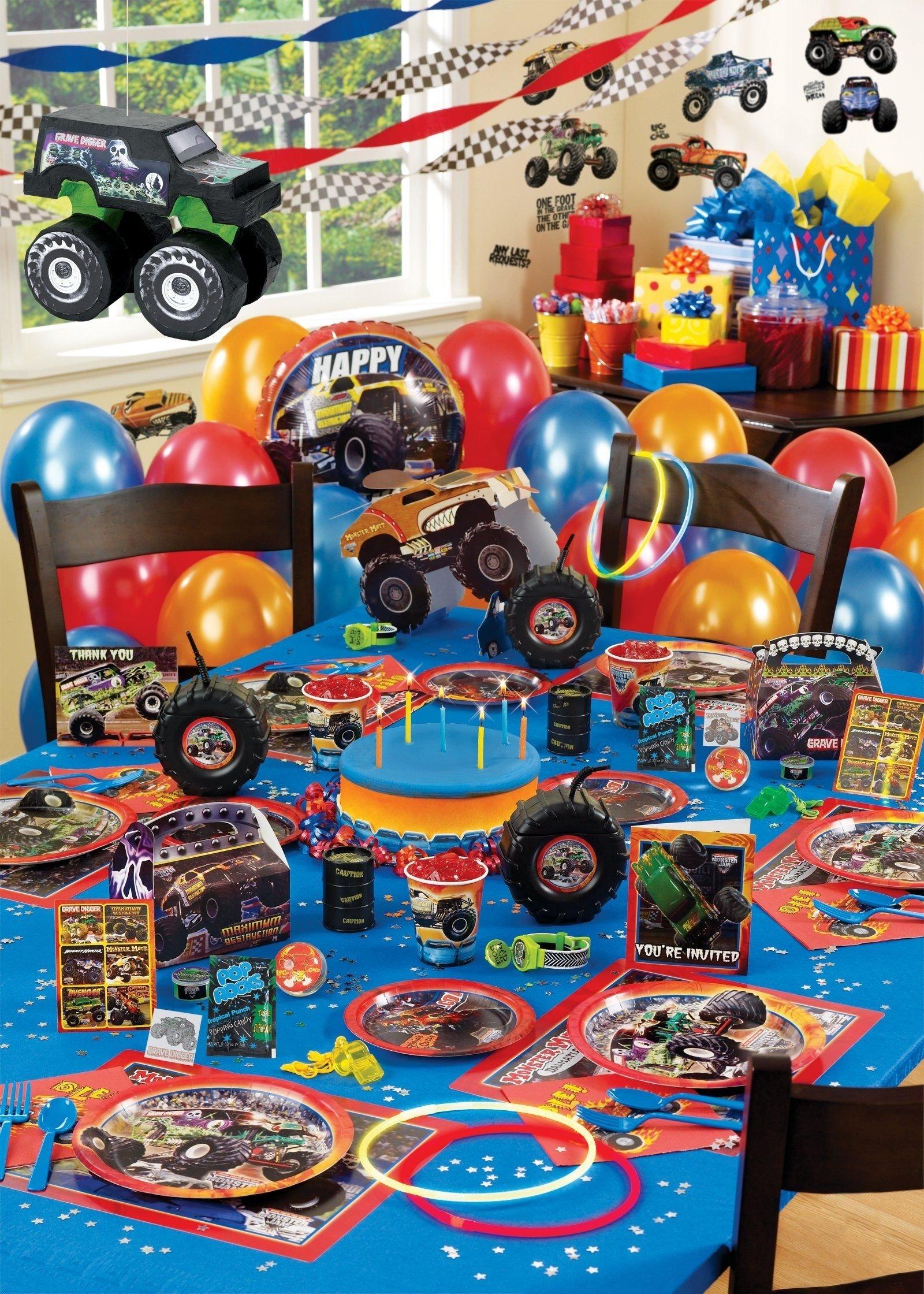 monster jam ultimate party pack | birthday's | pinterest | monster
