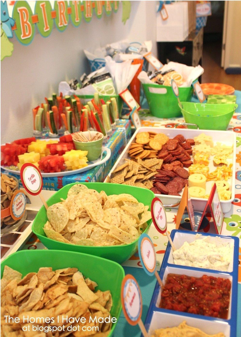 10 Elegant Birthday Party Finger Food Ideas monster party spotlight on food finger foods finger and bowls 1 2020